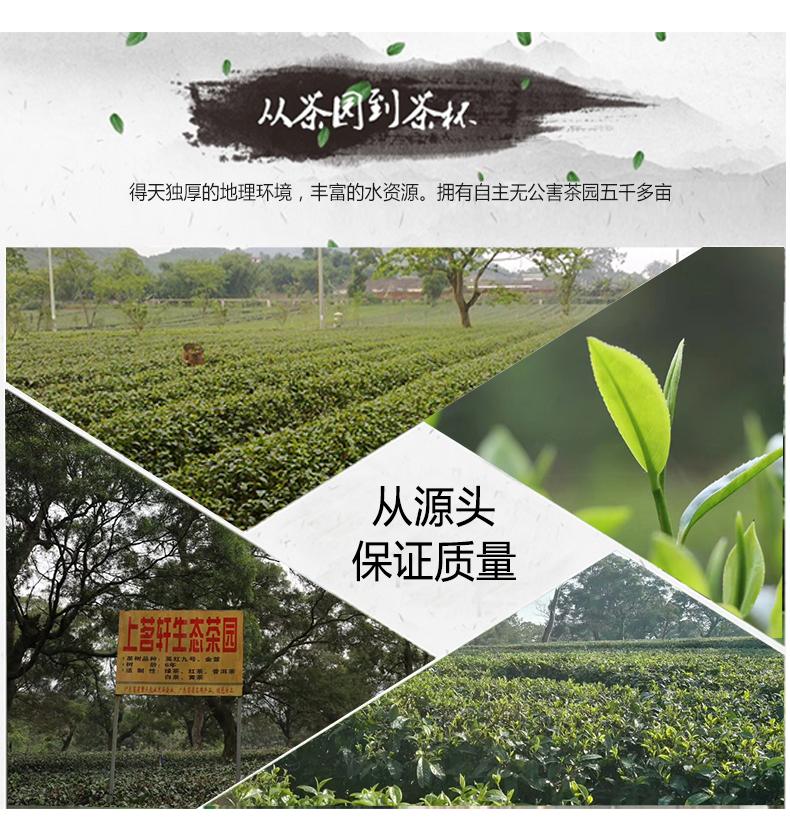 广东上茗轩正宗英德特级浓香型英红九号2020礼盒装新品红茶叶特产