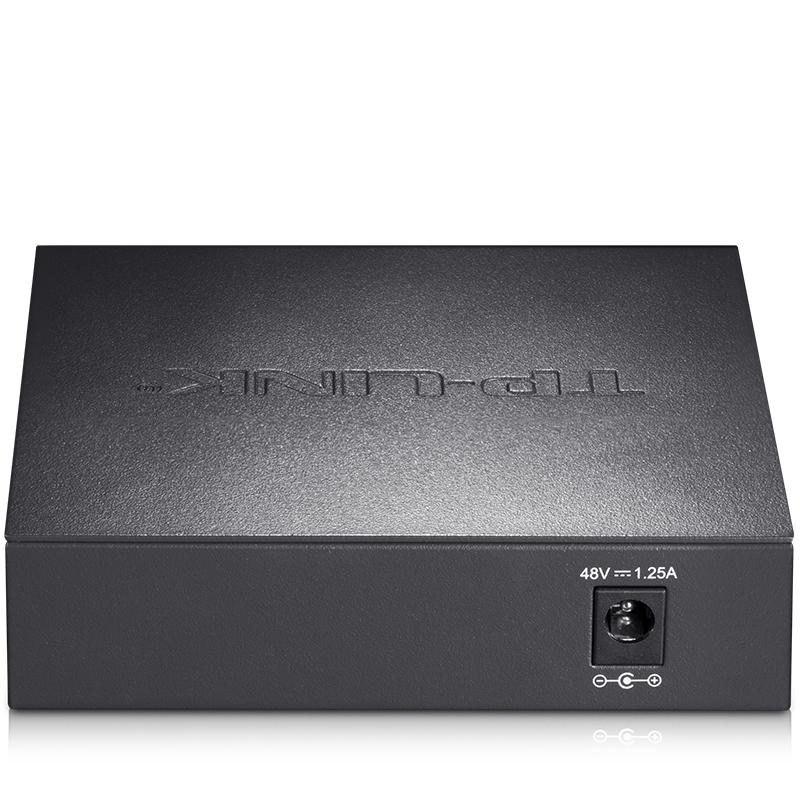 网络监控 1000M 分线器 4 钢壳 口全千兆交换机 5 SG1005D TL LINK TP