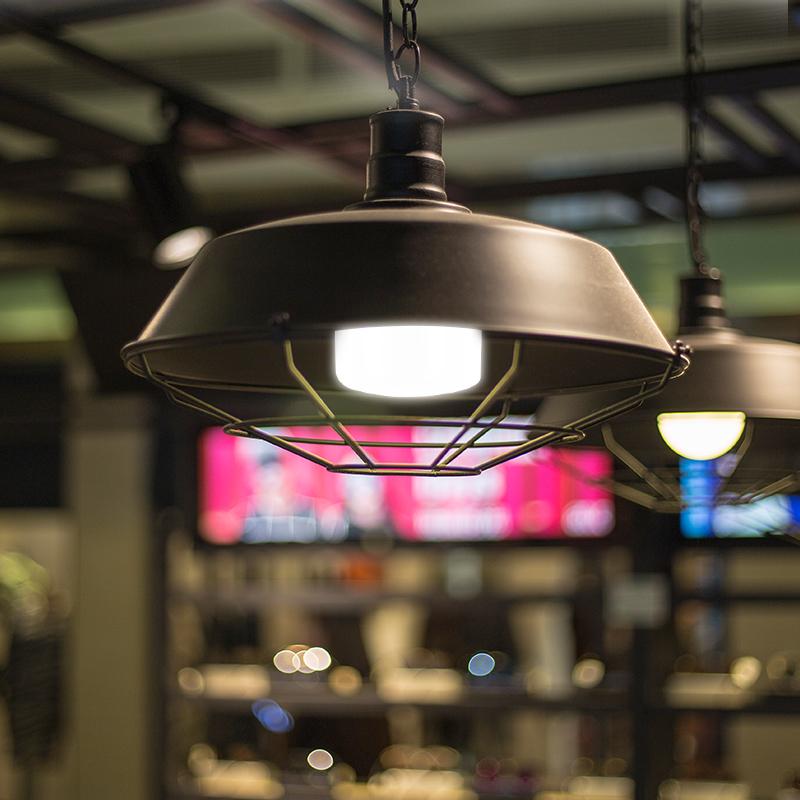 家用大功率超亮厂房照明单灯 20W24W 螺口球泡灯 E27 节能灯泡 led 美