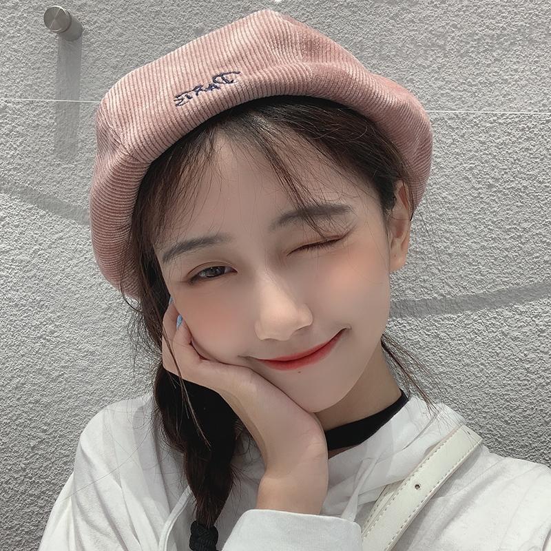 贝雷帽女秋冬韩版日系甜美可爱学生(佳思佳)
