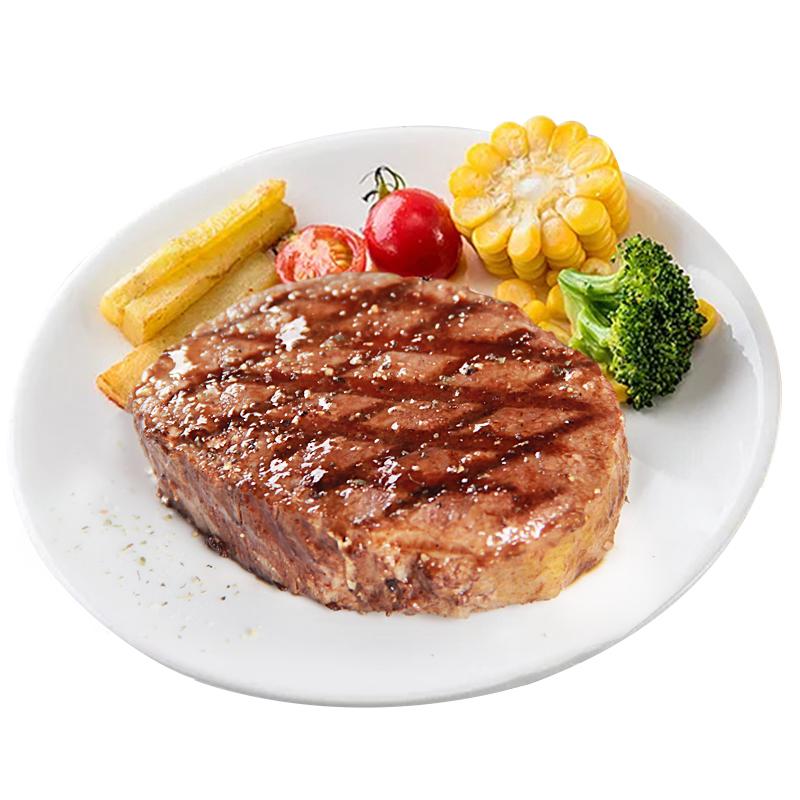 骏德澳洲家庭牛排套餐团购10片家用新鲜进口牛肉菲力黑椒儿童