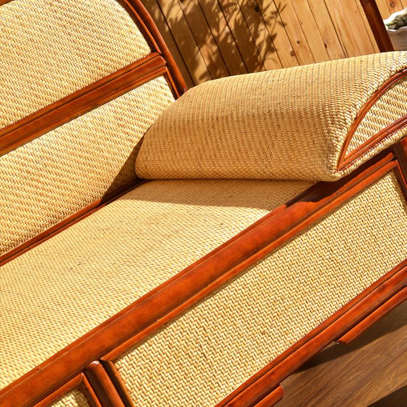 藤妃 贵妃椅卧室沙发藤艺贵妃椅美人塌实木客厅躺椅贵妃沙发懒人