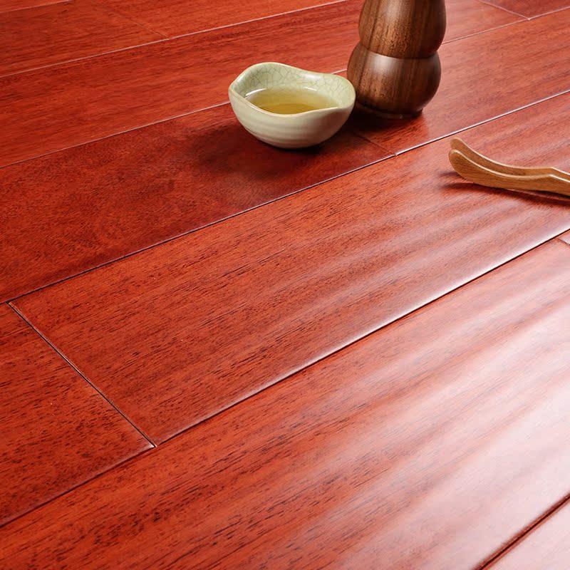 福人实木地板 纯实木地板番龙眼18mm 厂家直销环保全实木地板