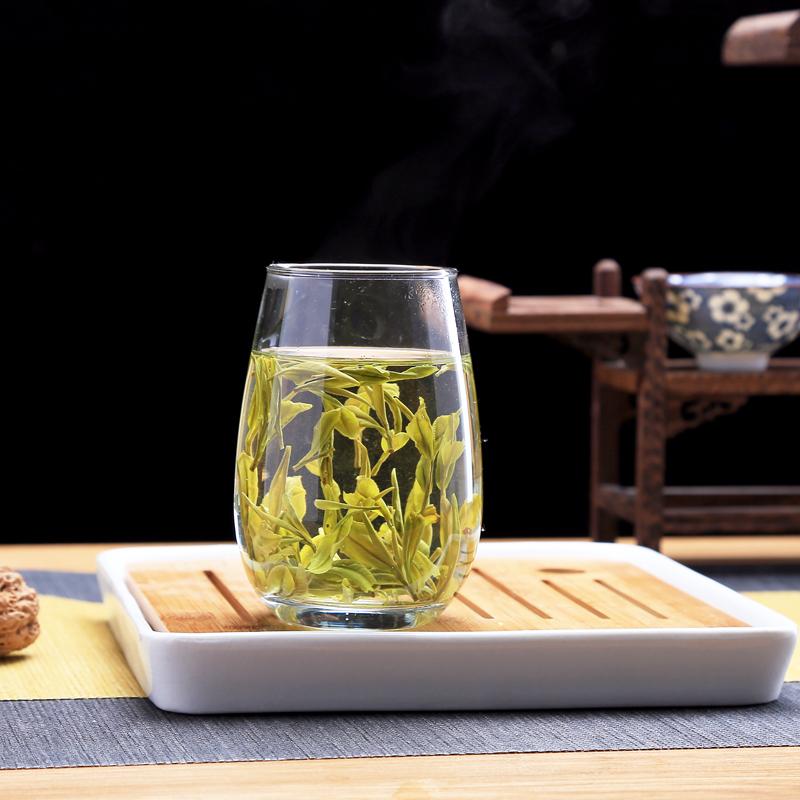 年新茶 2018 盒装半壕春闷黄黄茶 250g 霍山黄芽雨前内山 买一送杯
