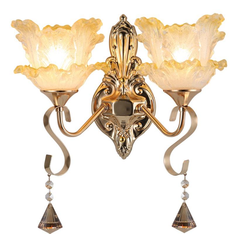 壁灯床头灯北欧现代欧式简约创意led美式卧室客厅过道楼梯墙壁灯