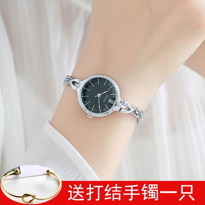 金米欧手表女简约时尚潮流女生手表学生手表休闲链条表手链石英表