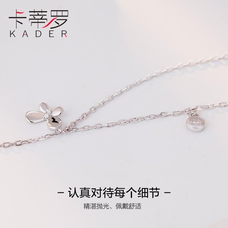 925纯银脚链日韩版女学生简约森系闺蜜个性时尚清新可爱定制足链