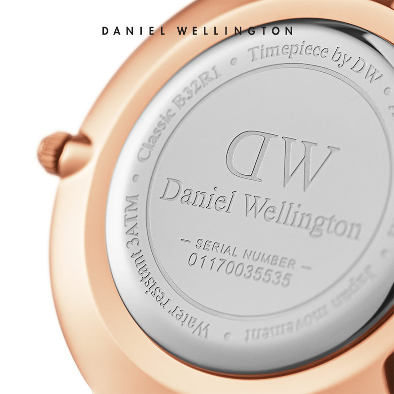 Danielwellington 丹尼尔惠灵顿DW女表32mm皮带石英女表