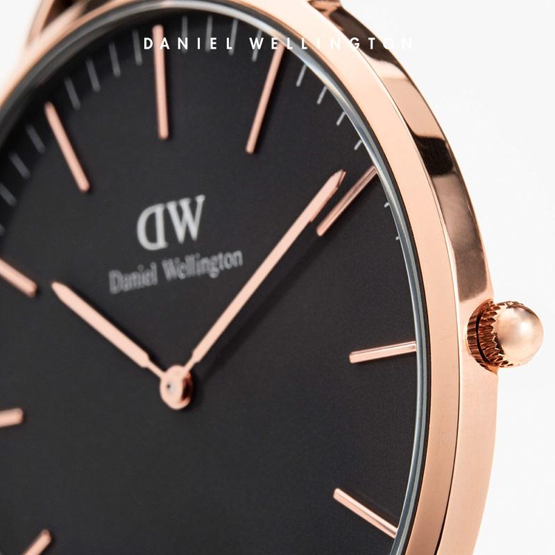 Danielwellington 丹尼尔惠灵顿dw情侣表对表女男手表石英表