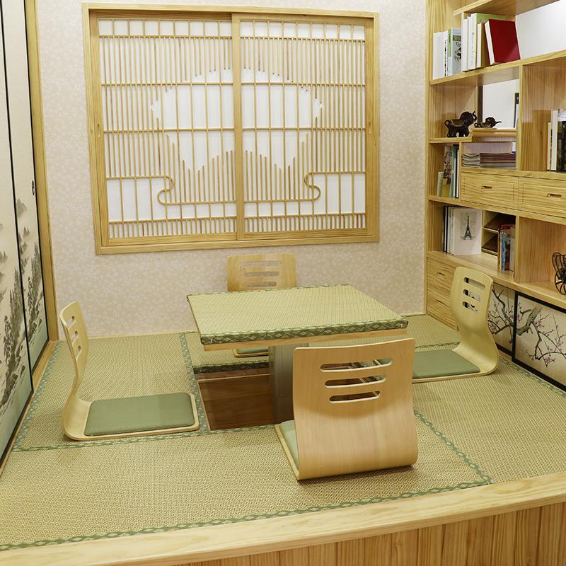 实木榻榻米地台整体定制儿童房书房卧室日式全屋定制和室定做设计