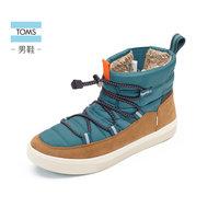 TOMS男鞋TRVL LITE 秋冬新款亲子款低跟平底保暖棉靴男靴 (¥659(券后))
