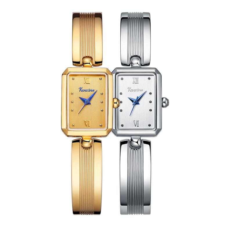 手表女方形小表盘金色时尚潮流气质手链细带小巧2018新款女士手表