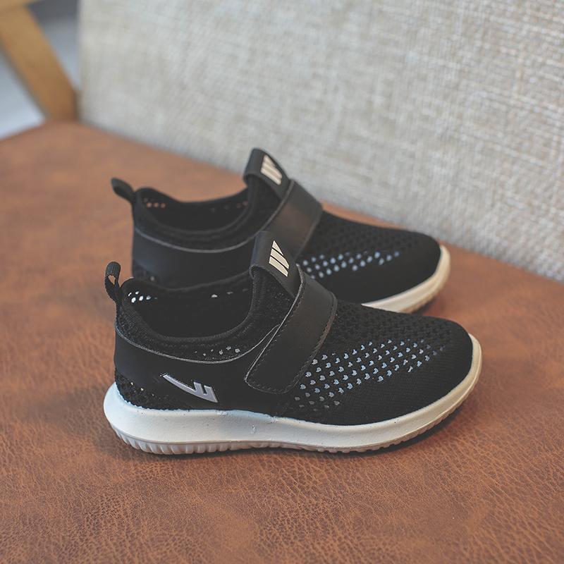 春夏新款透气轻便儿童运动鞋男童休闲鞋女童跑步网鞋 2019 回力童鞋
