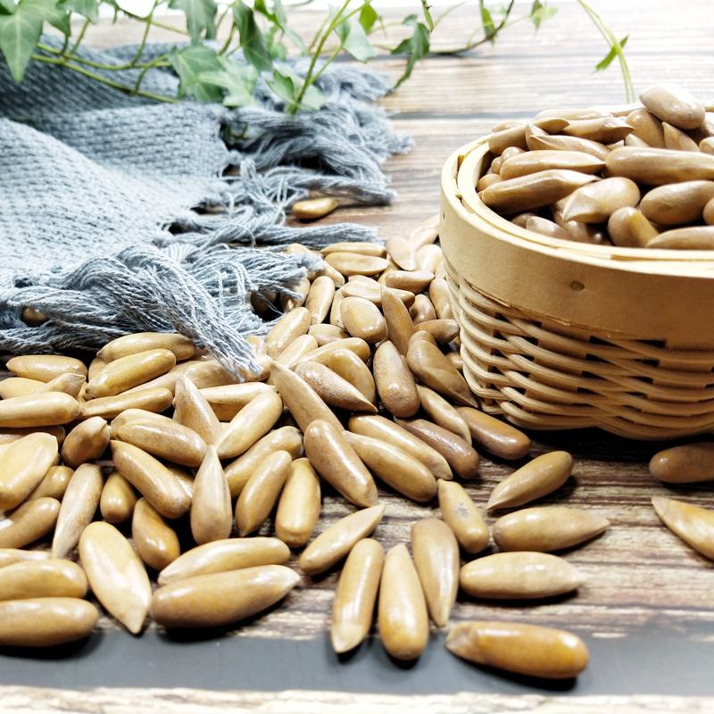 松灵4月新货手剥巴西松子500g小包袋装特大颗粒散装坚果年货主图