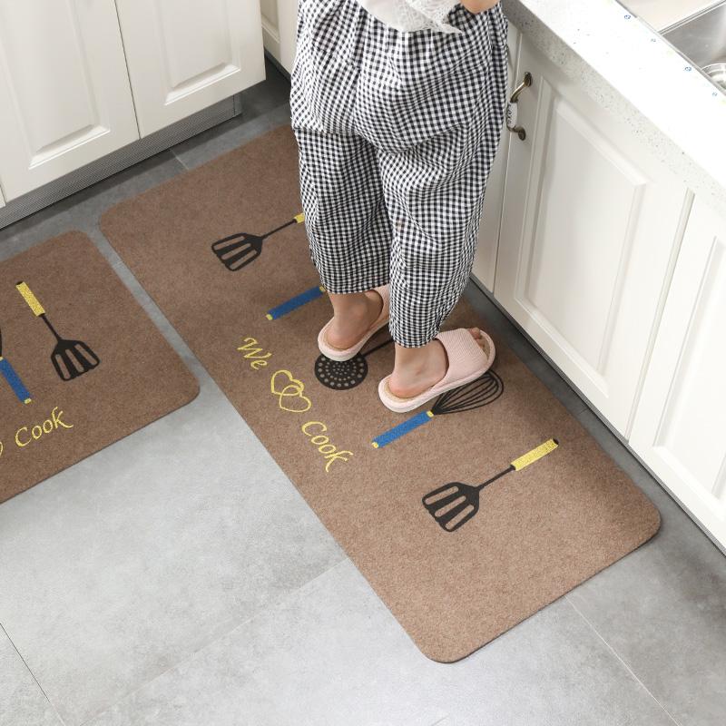 廚房地墊門墊長條防滑吸水墊子進門門廳腳墊浴室防滑墊臥室床邊墊