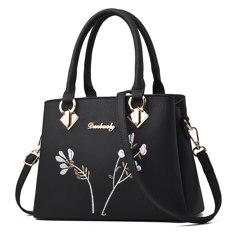 包包女包2020新款潮时尚女士百搭老年大容量中年妈妈包斜挎手提包主图