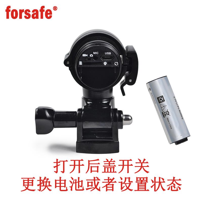 头盔防水运动相机摄像机摩托自行车行车单车记录仪高清 F9 forsafe