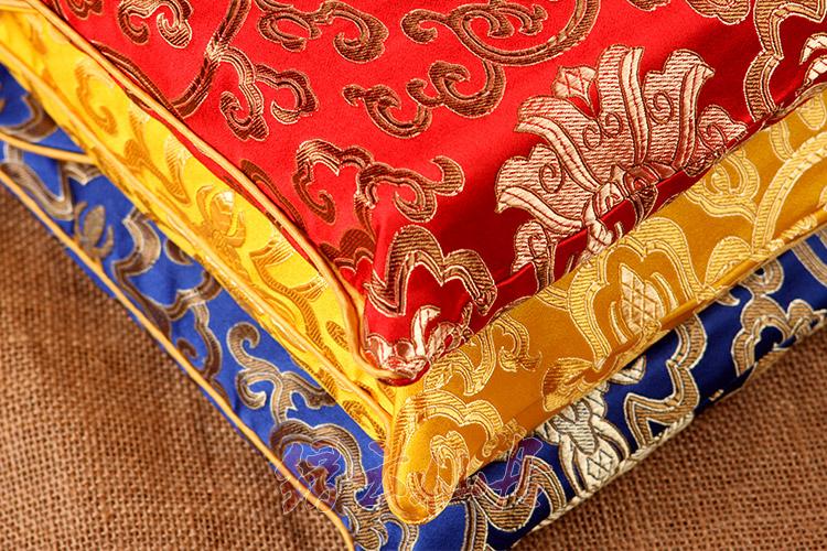 包邮黄红蓝色高档锦缎藏式加厚大经书袋\法宝袋\经书包\包经布