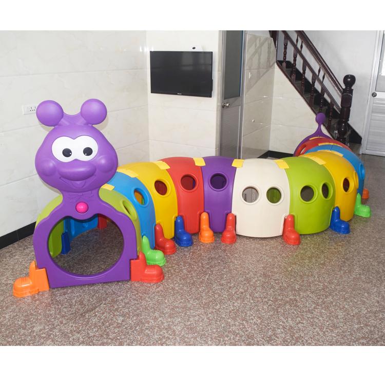 毛毛虫钻洞幼儿园儿童隧道玩具宝宝婴儿爬行筒塑料室内游乐场户外