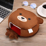 Winter computer antifreeze USB hand warmer mouse pad winter warm mouse cover heating heating table warmer male extra large gloves electric heating cute girl mouse pad wrist warmer