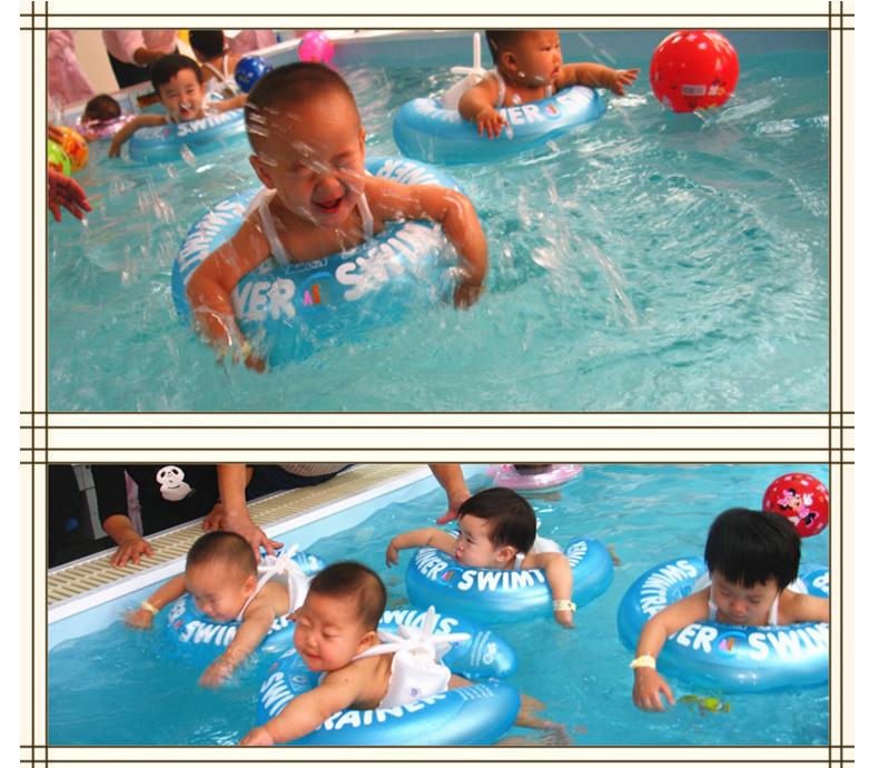 新款升级款ABC婴幼儿游泳圈儿童游泳圈加厚款婴儿腋下圈耐寒宝宝