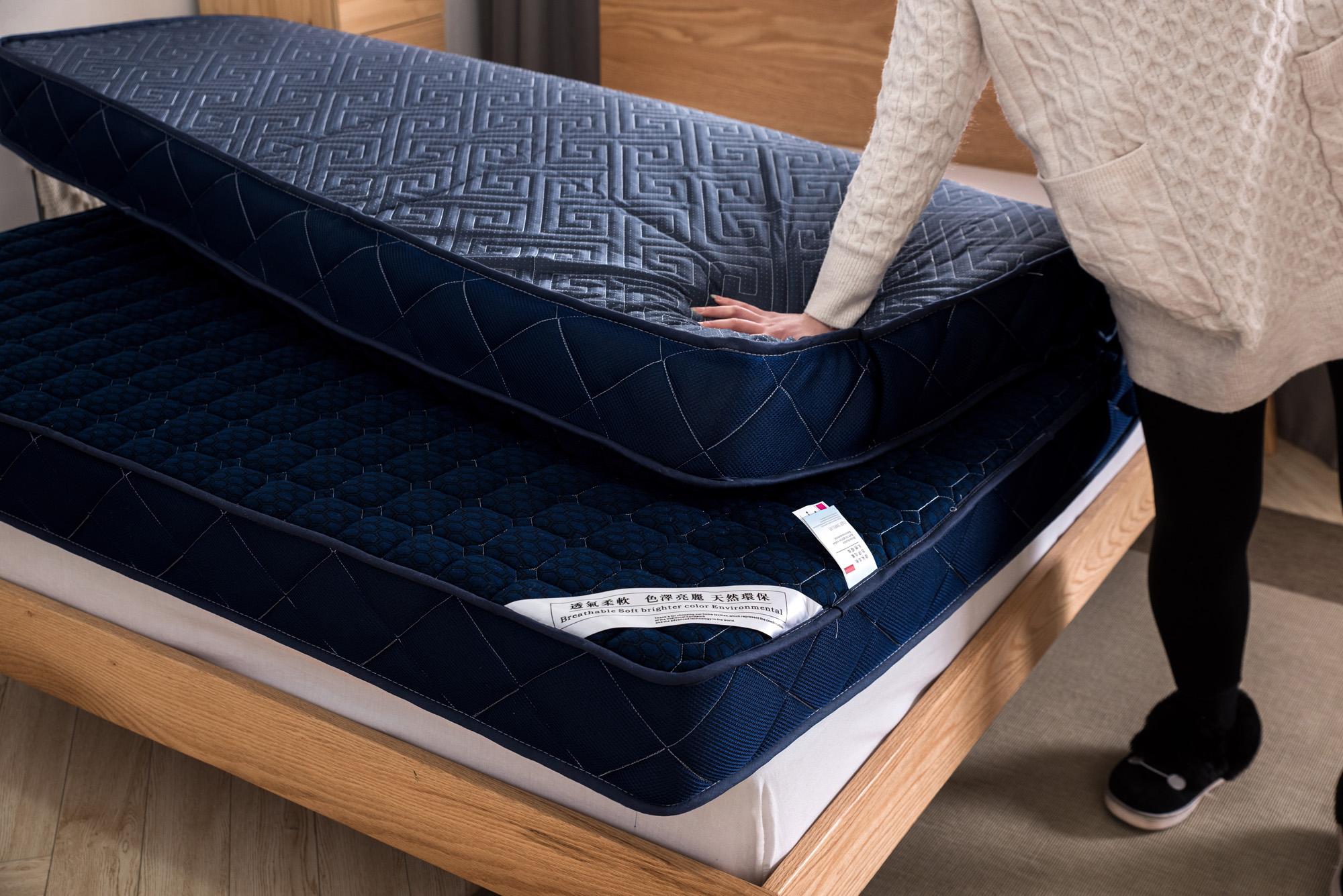 加厚记忆棉海绵床垫0.9m1/1.2/1.35/1.5/1.8x1.9*2米学生宿舍床褥