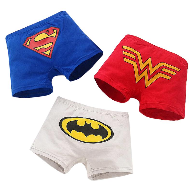 儿童蜘蛛侠胖男童内裤夏小童薄款恐龙图案超人中大童纯棉加肥加大