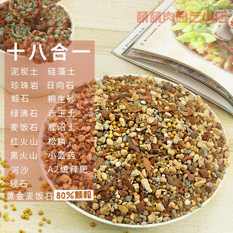 多肉植物营养土泥炭土多肉土叶插换盆土多肉专用土多肉颗粒土包邮