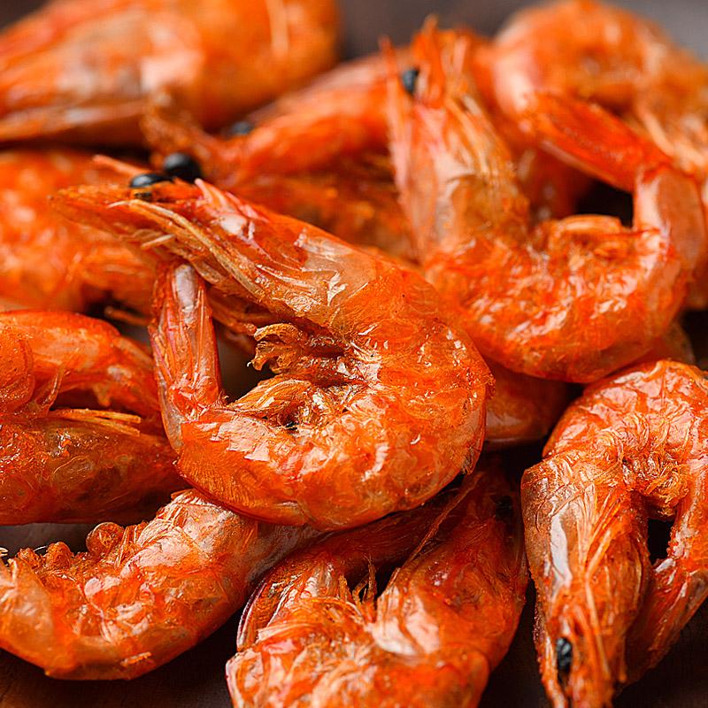 巷仔边虾老大冻干脆虾即食虾干 对虾烤虾大虾年货孕妇宝宝零食品