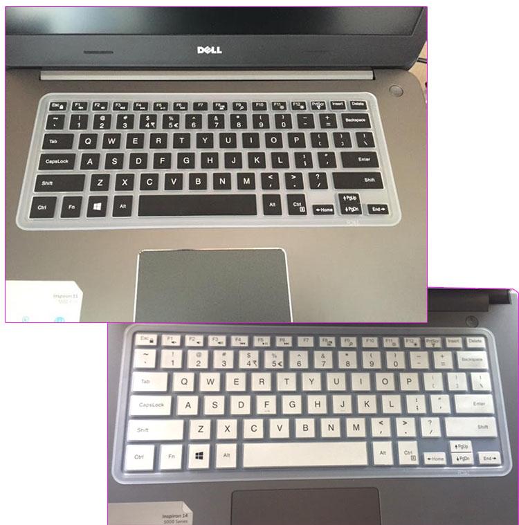 戴尔Vostro成就14 5000 5468键盘贴膜14寸笔记本防尘垫凹凸透明