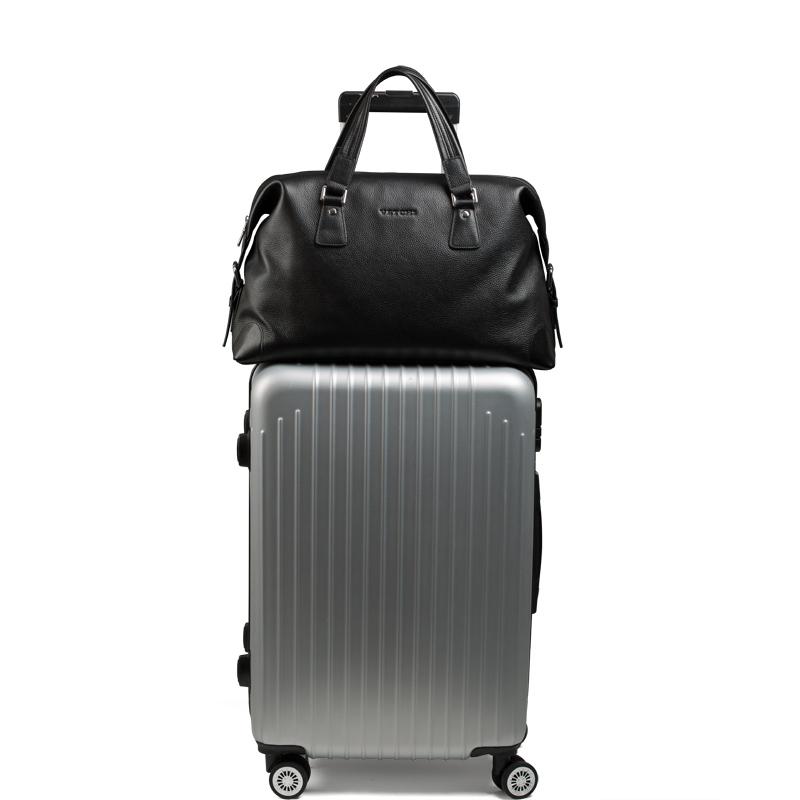 短途出差旅行包男士手提包真皮大容量登机行李包头层牛皮健身男包