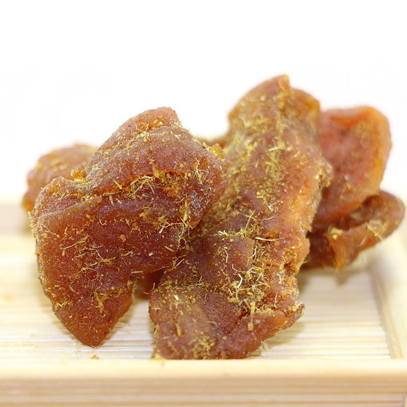 华味亨 蜜饯果脯果干桃肉水果干休闲零食品【甘草桃肉160g*3桶】