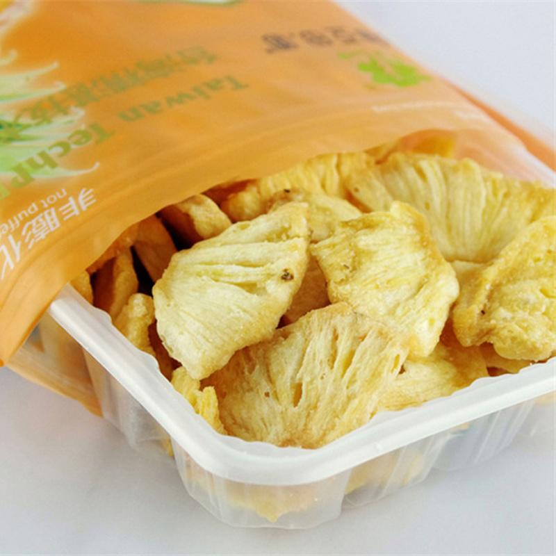 亚细亚田园菠萝脆片80g什锦蔬菜干水果脱水即食休闲小吃凤梨零食