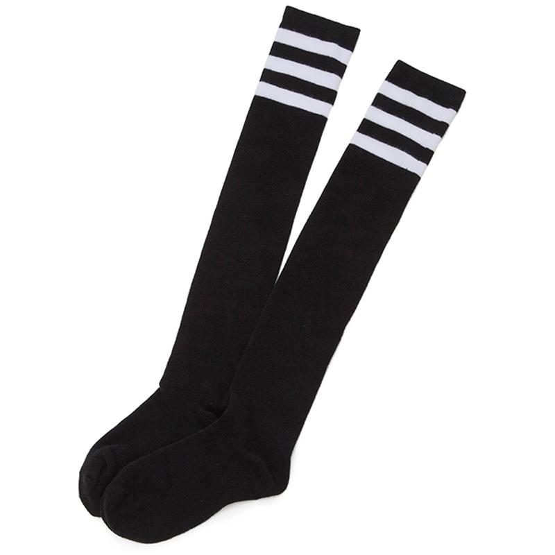 过膝袜子女中筒袜韩版学院风日系夏季薄款学生高筒袜韩国长筒袜女