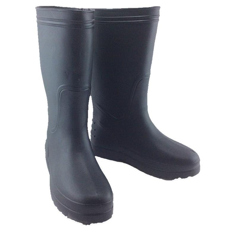 新品单雨鞋防滑一次成型一体泡沫 防水鞋男女厚底高筒雨靴钓鱼  EVA