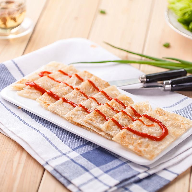 手抓饼 面饼 25片台湾手抓饼家庭装煎饼早餐饼全国包邮送纸袋冰袋