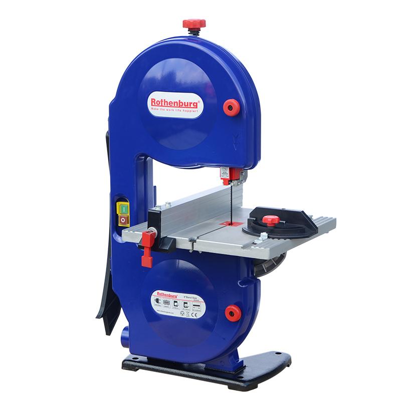 木工带锯机8寸9寸10寸带锯机曲线切割机家用多功能开料机木工工具