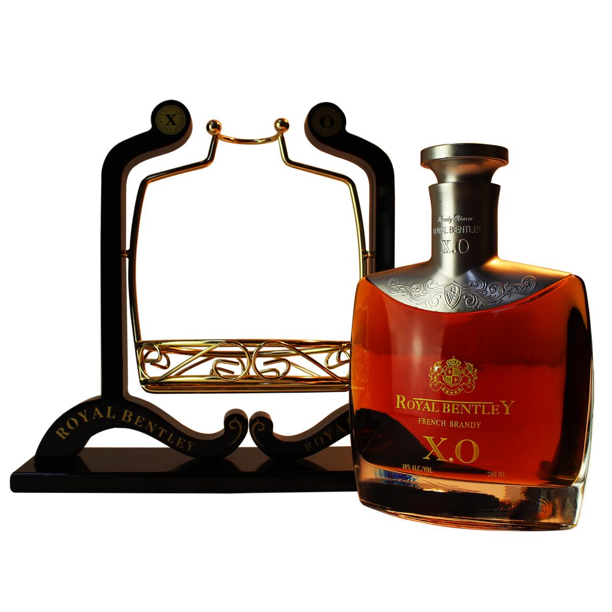 礼品酒 干邑白兰地葡萄蒸馏酒 洋酒 XO 皇家宾利 XO 洋酒 法国进口