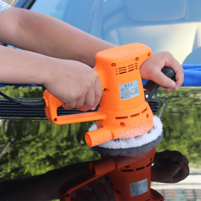 澳铂斯汽车打蜡机美容可调速220V封釉机镀膜机带震动打蜡抛光机
