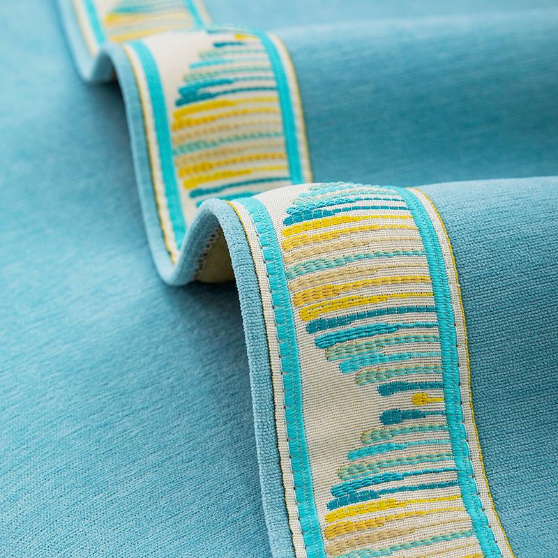 耐脏雪尼尔沙发垫四季通用防滑沙发套罩北欧简约高档坐垫子盖布巾