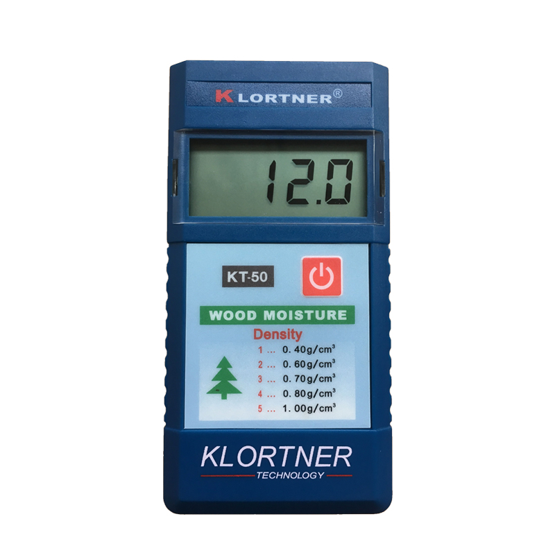KLORTNER感应式KT-50木材水分仪测试仪测湿仪湿度计测量仪测定仪