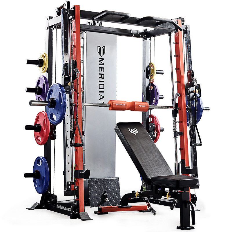 史密斯机健身龙门架健身家用综合训练器健身器材大飞鸟深蹲卧推架