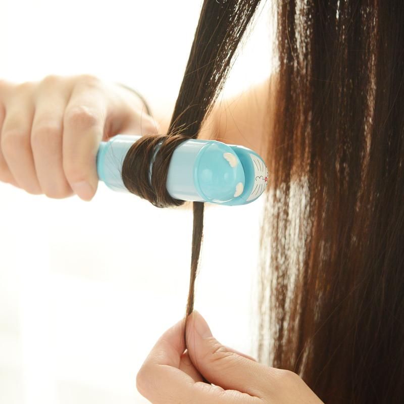 陶瓷迷你直发器刘海直卷两用拉直小电夹板卷发棒烫卷发神器不伤发