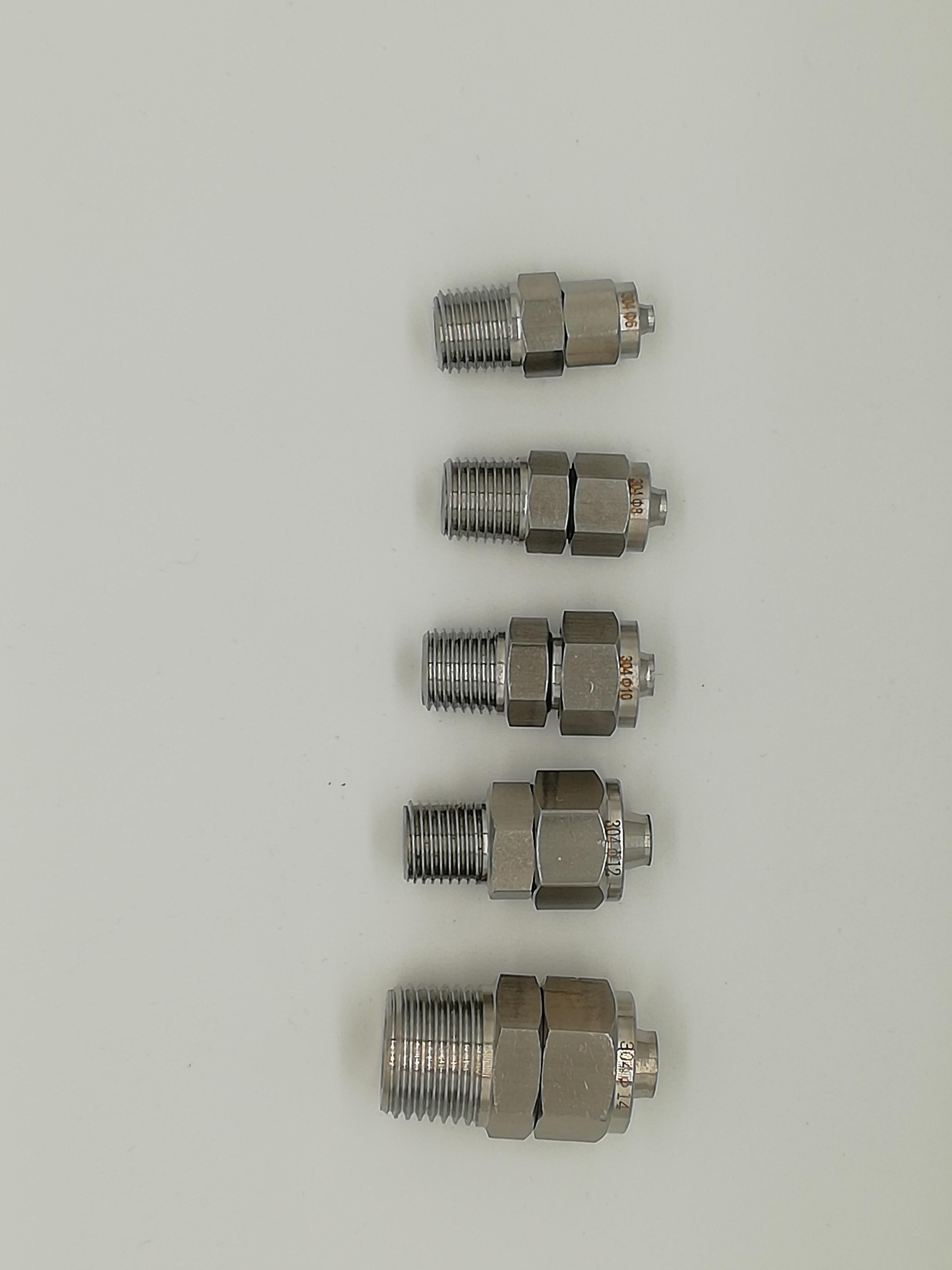气管接头快拧直终接头/PU管接头/软管接头