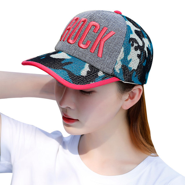 Hat female summer influx of Korean wild breathable mesh sports cap baseball cap sun hat female outdoor travel