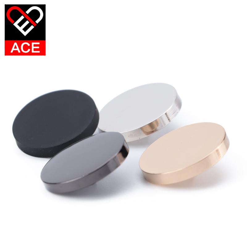 ACE纽扣衬衫金属平面圆形呢大衣西装风衣外套时装钮扣扣子