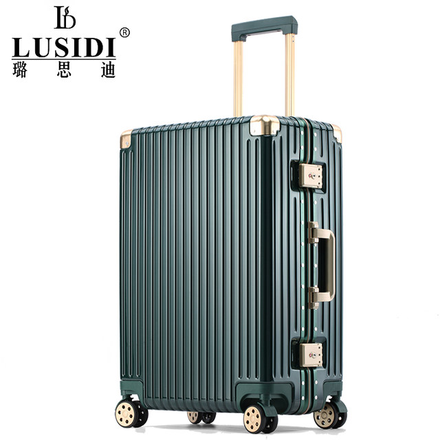 Luggage universal wheel female boarding password suitcase male 24 inch ins tide net red new 2019 trolley luggage