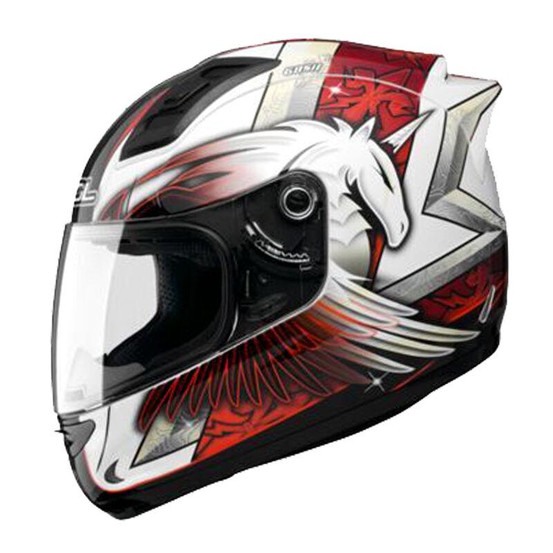 台湾SOL摩托车头盔男女独角兽夏四季机车全盔赛车卡丁车跑盔683代