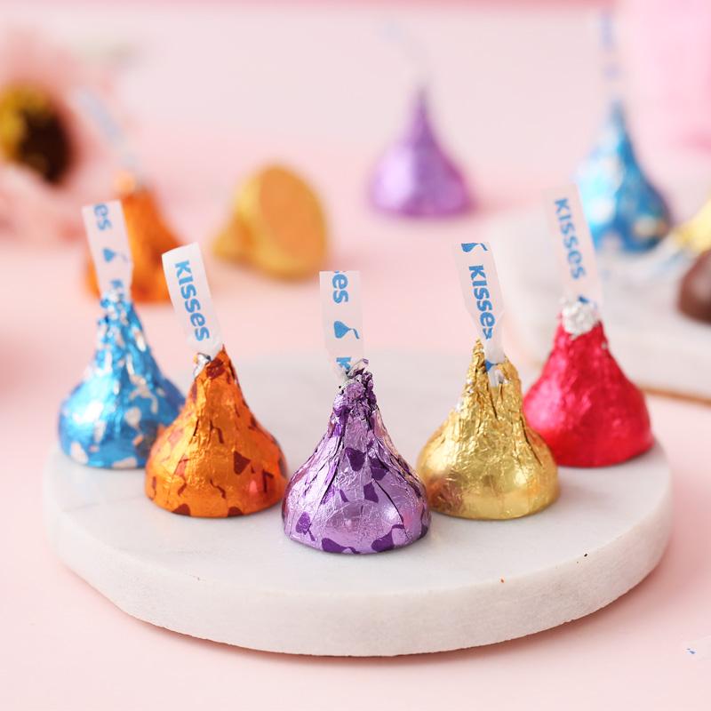 kisses好时之吻水滴巧克力500g散装结婚喜糖果零食品礼包批发