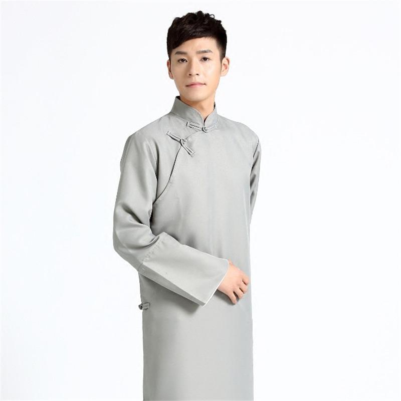 中式伴郎伴娘服民国马褂长衫长袍相声大褂男士结婚兄弟伴郎团礼服